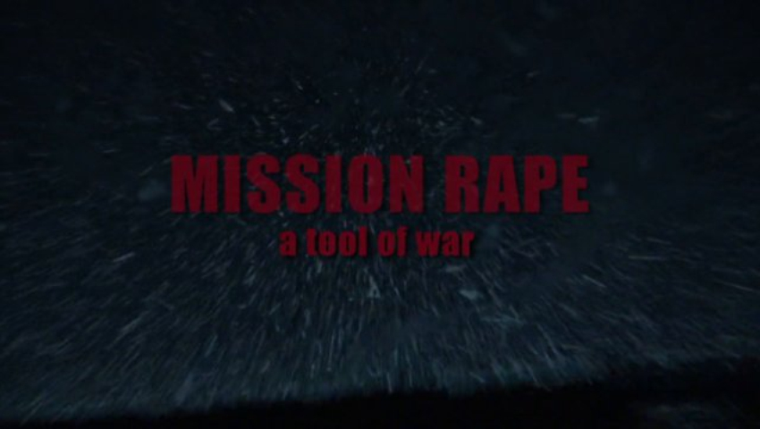 Mission Rape - a tool of war, Trailer