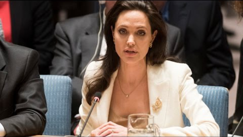 Angelina Jolie on Middle East (Syria) - Security Council, 7433rd meeting